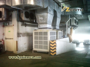 EVAPORATIVE COOLING SYSTEM-TRUE3
