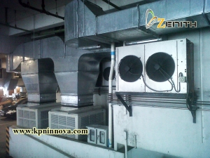 EVAPORATIVE COOLING SYSTEM-TRUE7