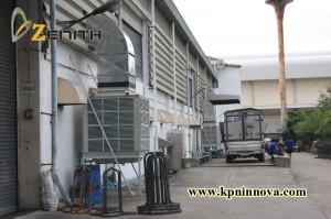 EVAPORATIVE-VATTANAPORNSCREW1 evaporative cooling system ระบบพัดลมไอเย็น (Evaporative Cooling System) คืออะไร EVAPORATIVE VATTANAPORNSCREW1